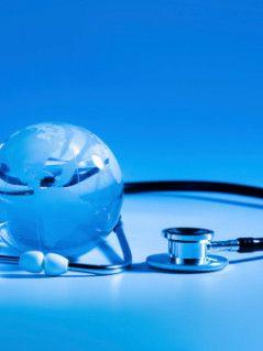 Global healthcare - Stock Image
