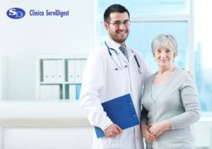 Visita especialista aparato digestivo