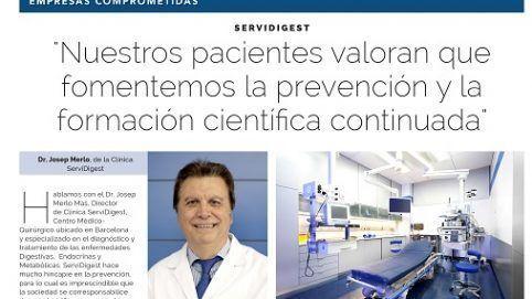 Dr. Josep Merlo La Vanguardia